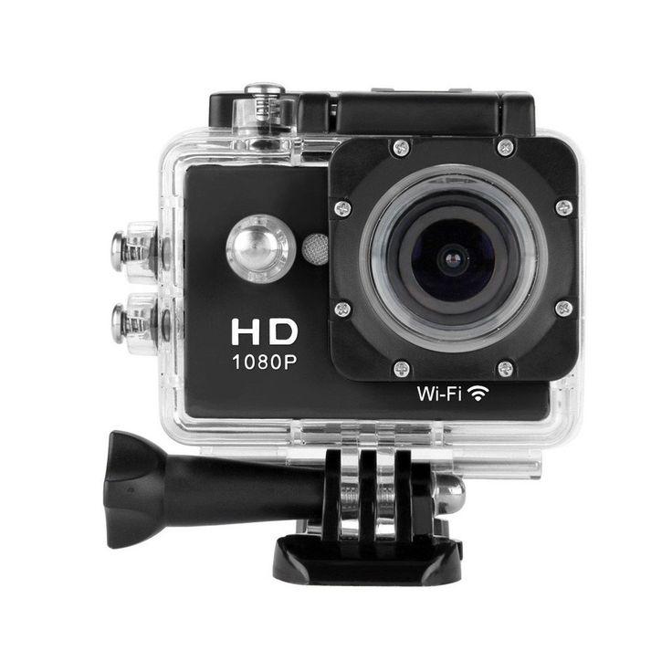 Floureon Y8-P Waterproof Wireless Mini WiFi Action Sports Camera 2.0 Inch LCD...