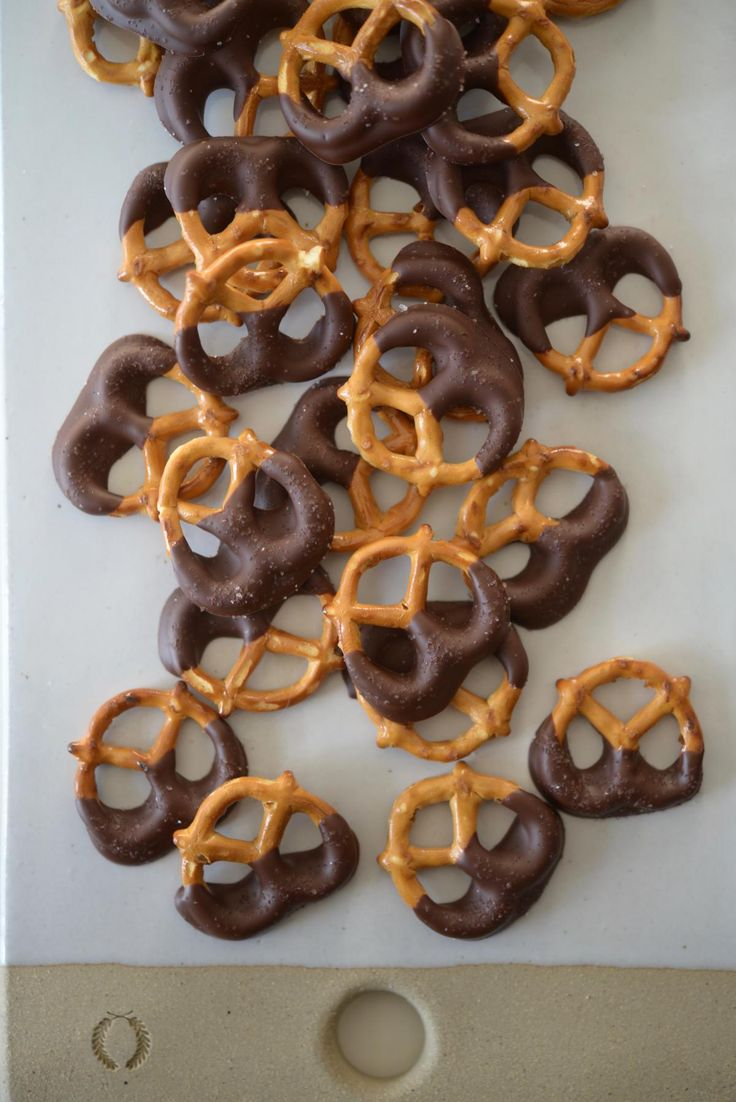 The Simple Dessert I Serve Guests When I'm Strapped for Time. Why chocolate-dipped pretzels are actually a secret weapon for hosts.