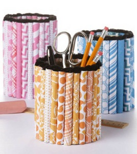 Turn a metal can from trash to treasure with some Tacky Glue