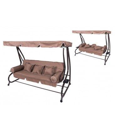 #dondolo #altalena #letto #giardino #terrazza #arredoesterno #CoveriGarden #stile #qualità Disponibile anche in altri colori