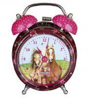 Mooi wekkertje van paardenvrienden spiegelburg voor meisjes die van paarden houden!