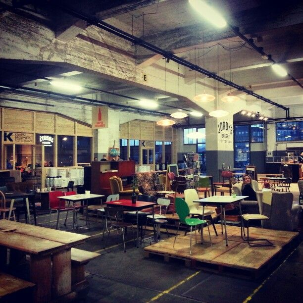 Fenix Food Factory Rotterdam Katendrecht food collective