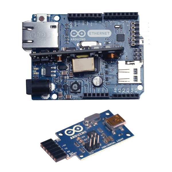 Arduino Ethernet with PoE USB 2 Serial A000061