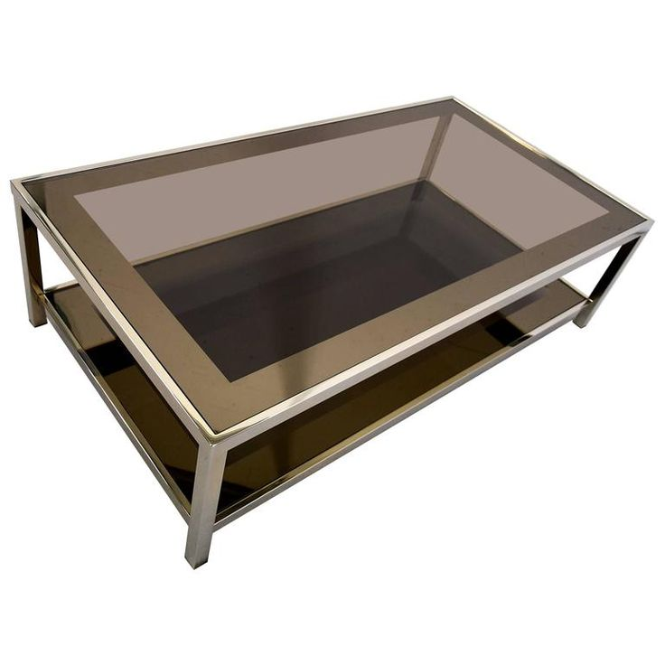 Mid-Century Modern 23-Karat Gold-Plated Two-Tier Coffee Table - 25+ Best Ideas About Modern Coffee Tables On Pinterest Coffe