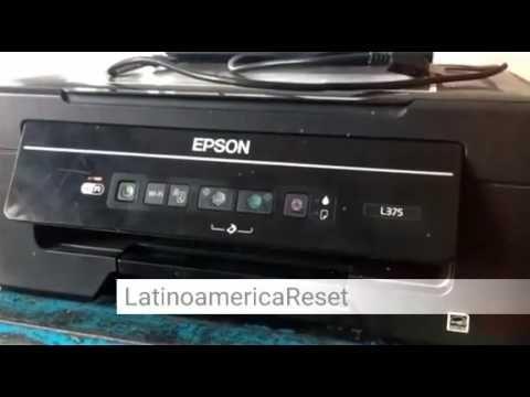 Reset Impresora Epson L365 Descargar Programa