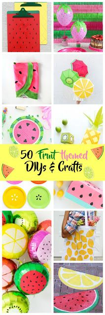 Vikalpah: 50 Fruit themed DIYs & crafts