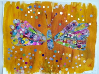 les petites têtes de lart: Comment la chenille dEric Carle devint un papillon...