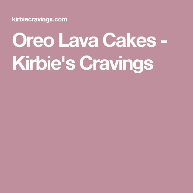 Oreo Lava Cakes - Kirbie's Cravings