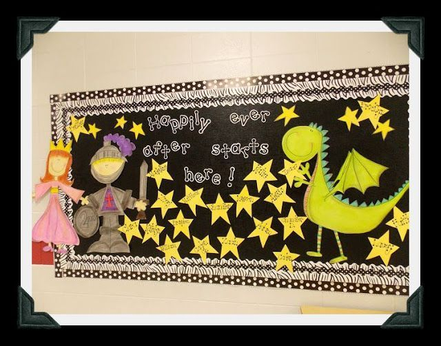 Classroom Birthday Ideas For A Teacher ~ Fairy tale bulletin board by glyph girls learning from