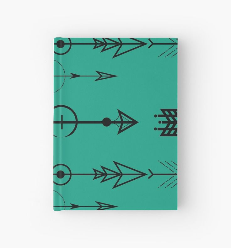 Stand out amongst the rest! Express yourself with this one of a kind arrow symbol design. • Journal, Writing, Book, Notebook