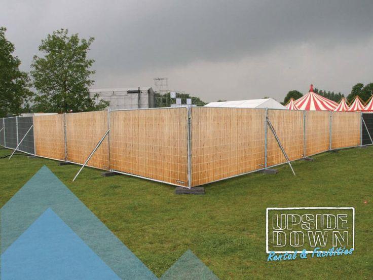 Deco banner - afbeelding 'bamboe' Upside-down Rental & Facilities