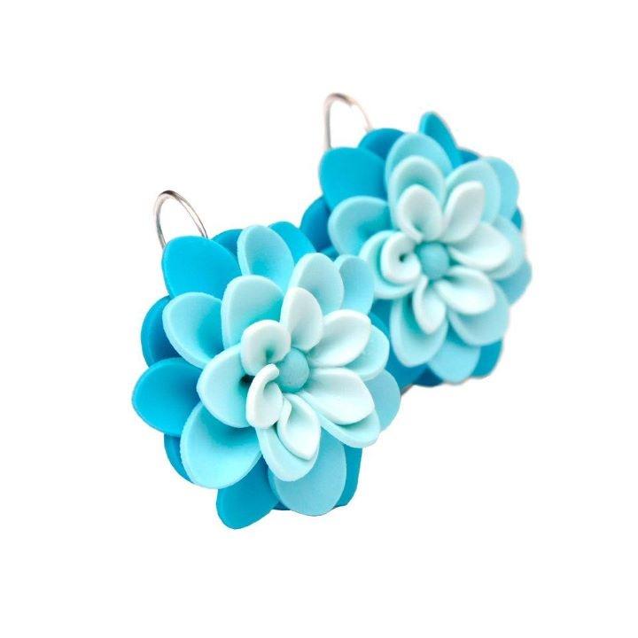 Flowers earing