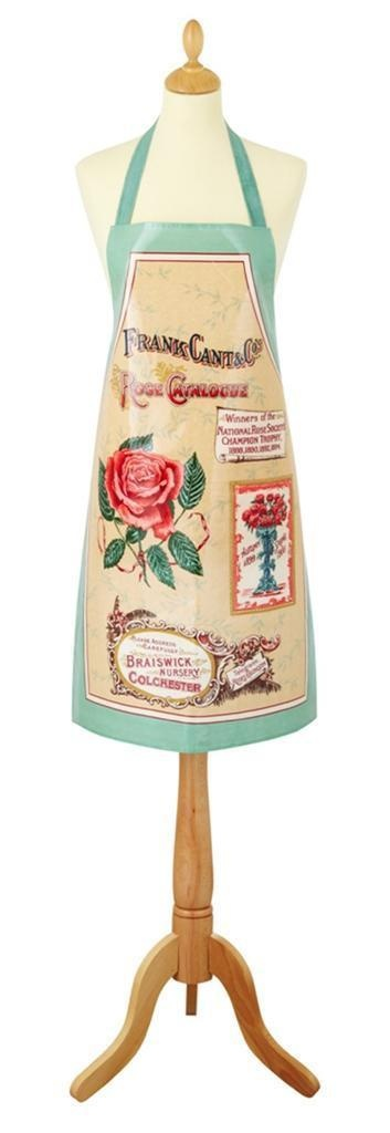 Royal Horticultural Society Rose Catalogue PVC Apron Garden Ulster Weavers UK | eBay
