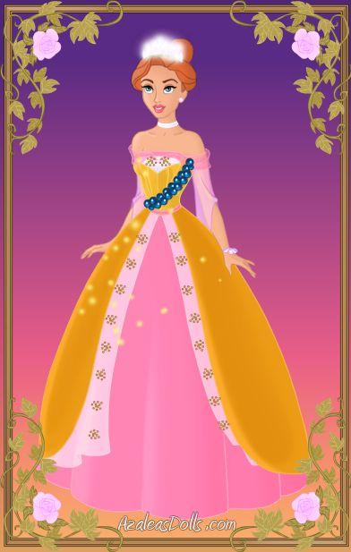 Beautiful Anastasia Coronation Dress by kawaiibrit