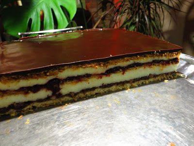 Domowe ciasta i obiady: Sernik Ambrozja