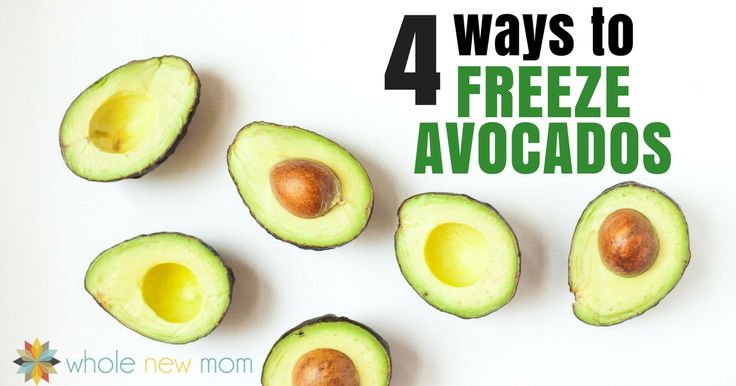 Did you know that freezing avocados seriously works? Here are 4 Ways to Freeze Avocados so you can save loads of money when they're on sale!