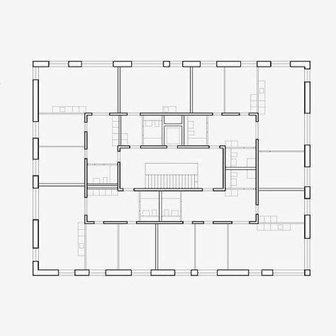 """428 mentions J'aime, 8 commentaires - Floris van der Poel (@florisvanderpoel) sur Instagram: """"Russian technique x frundgallina   La Fontenette social housing"""""""