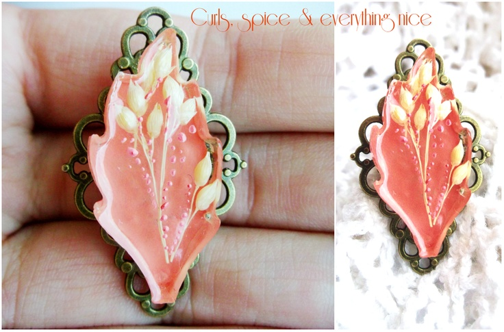Peachy Leaf de Curls Breslo
