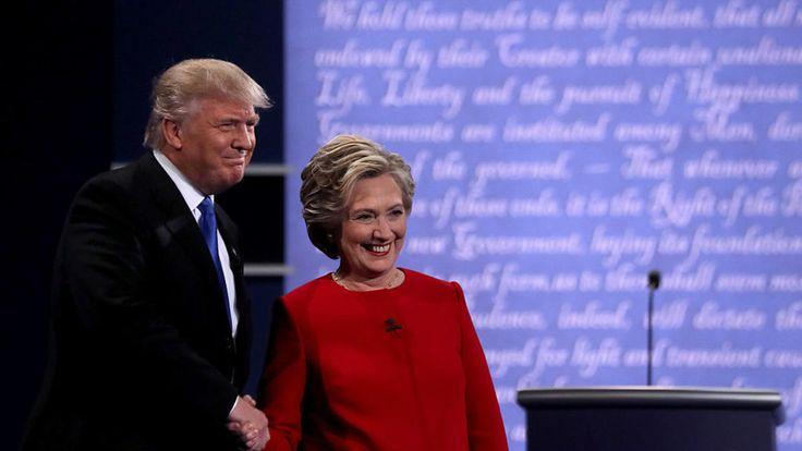 Trump y Clinton se subieron al ring de la telepolítica