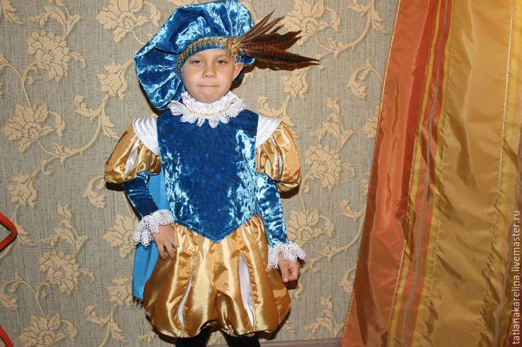 Купить Новогодний костюм для мальчика Принц - комбинированный, однотонный, принц, новогодний костюм, для мальчика