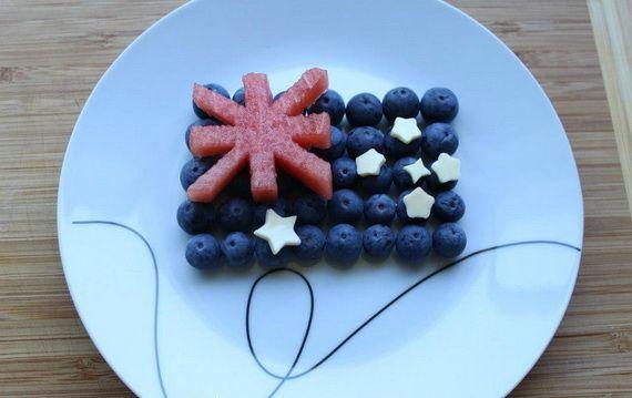 Australian Flag Fruit: Australia Day