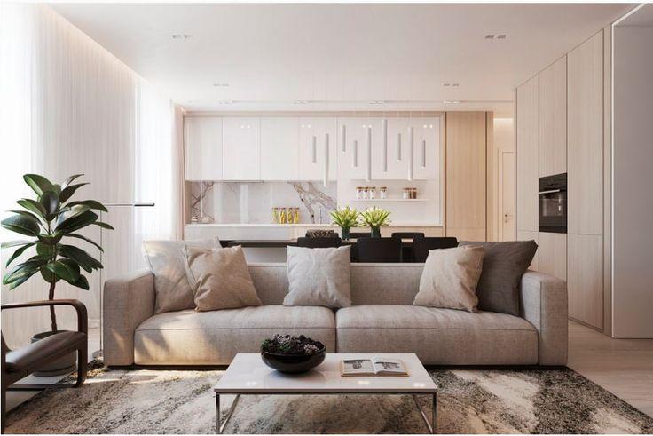 Светлый и стильный интерьер от дизайн студииART WORKSHOP.
