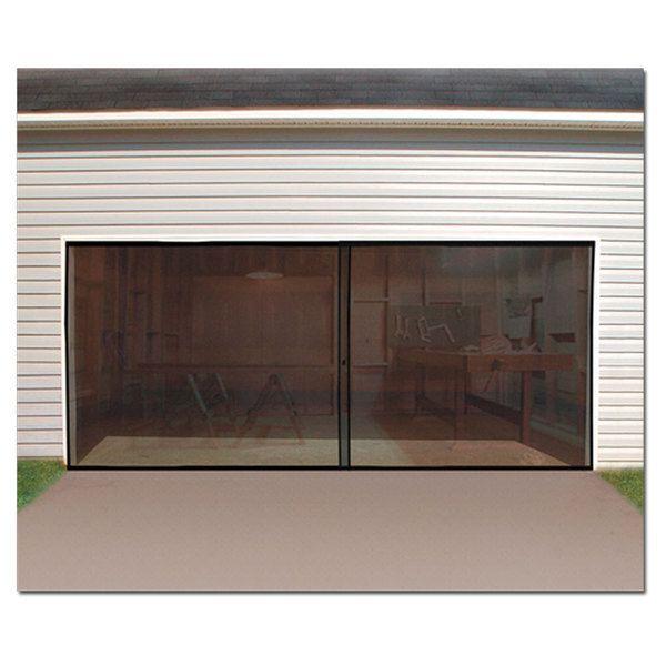 Best 25 garage door screens ideas on pinterest roll up garage door rolling screen door and - Single car garage door screen ...