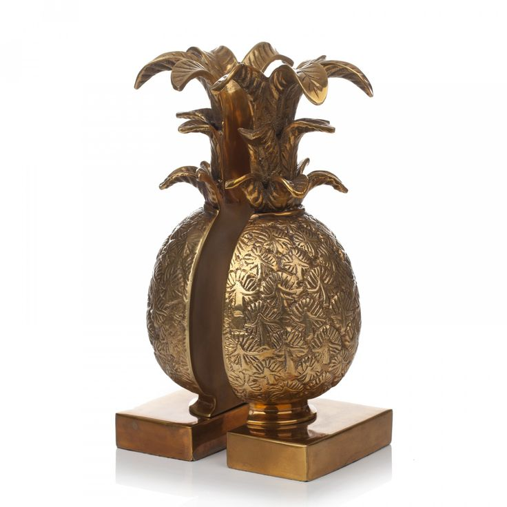 HOUSE OF HACKNEY Pineapple Book Ends - Brass
