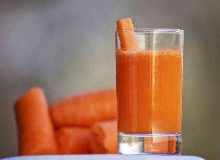 Ela estava bebendo suco de cenoura todas as manhãs durante 8 meses e aconteceu inacreditável!