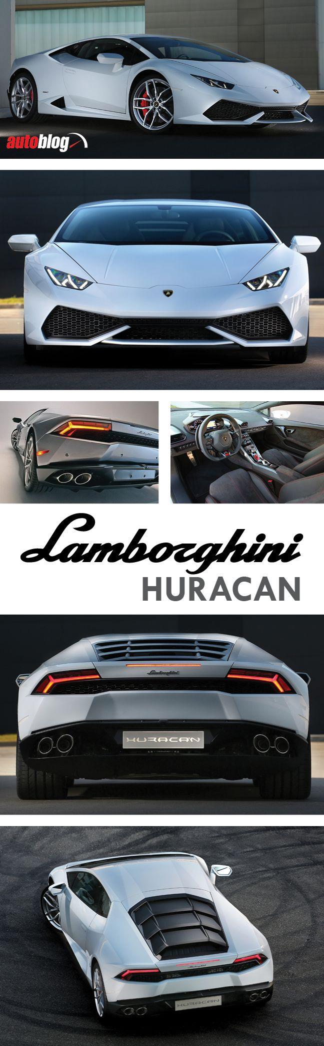 """2015 Lamborghini Huracán LP 610-4: Lamborghini's new """"entry-level"""" supercar, the…"""
