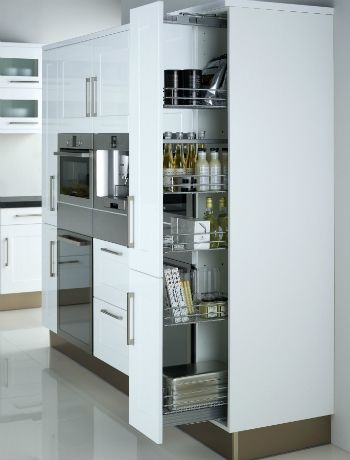 Maximise kitchen storage
