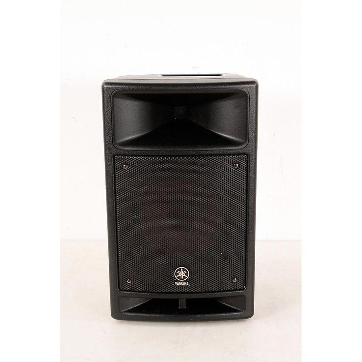 "Yamaha MSR100 8"" Powered Speaker Regular 190839094186"