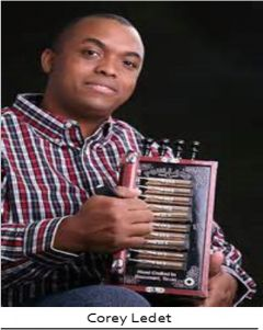 Corey Ledet and his Zydeco Band will be on the Main Stage on July 18th from 9pm-11pm.