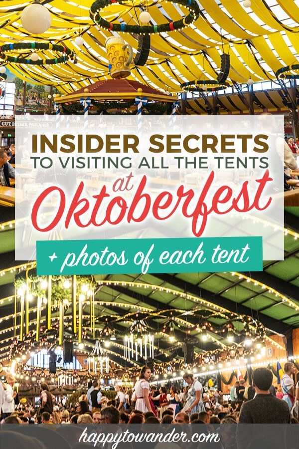 Oktoberfest Tents 2019: An Honest Guide (w/ Photos!)