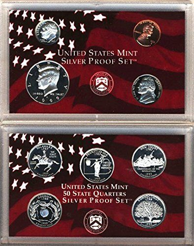 1999 Silver Proof Set with original packaging and COA >>> Find out more about the great product at the image link.