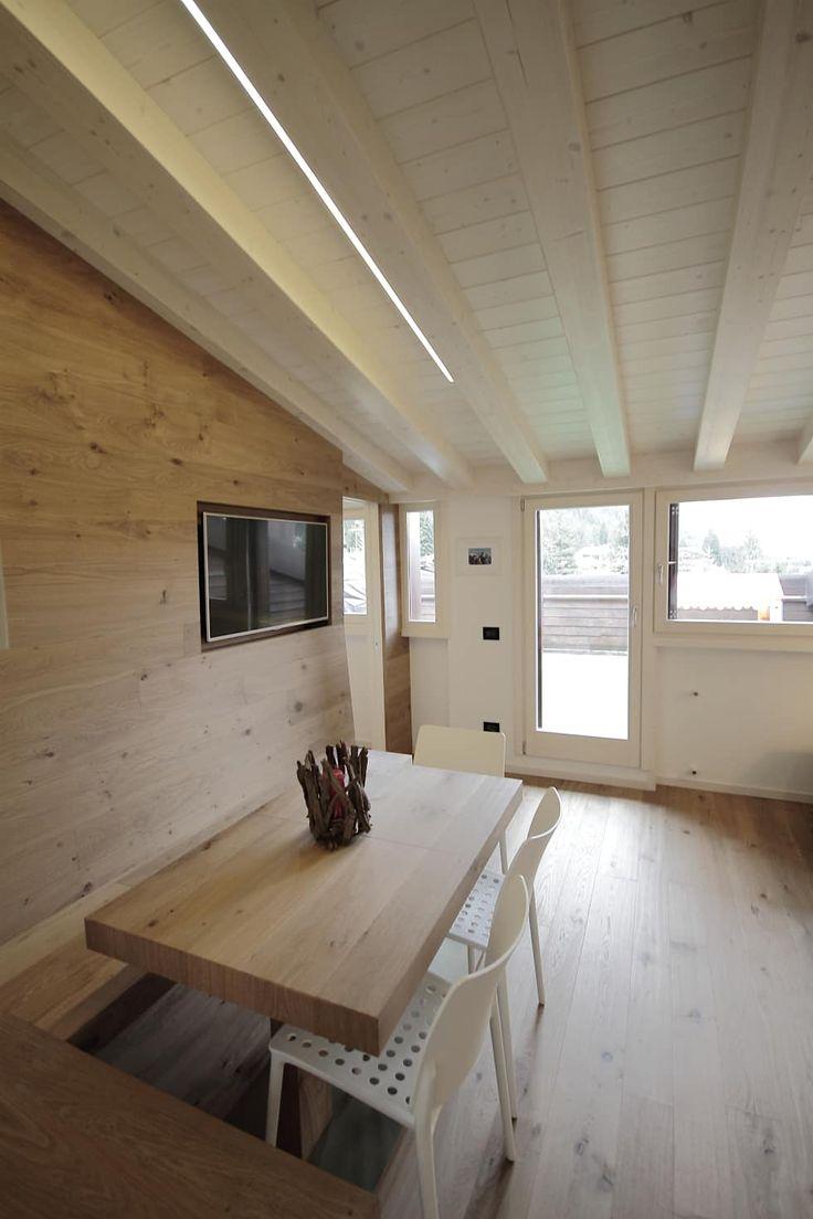 Progetti: Sala da pranzo in stile in stile Moderno di luigi bello architetto