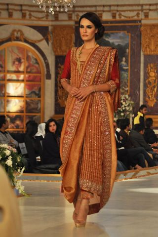 Nida Azwer Collection at Pantene Bridal Couture Week 2013 Day 1