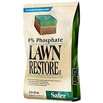 25lbs Safer Brand: Ringer Lawn Restore Organic Lawn Fertilizer $25 @ Amazon or less w/S&S https://www.lavahotdeals.com/us/cheap/25lbs-safer-brand-ringer-lawn-restore-organic-lawn/302377?utm_source=pinterest&utm_medium=rss&utm_campaign=at_lavahotdealsus&utm_term=hottest_12