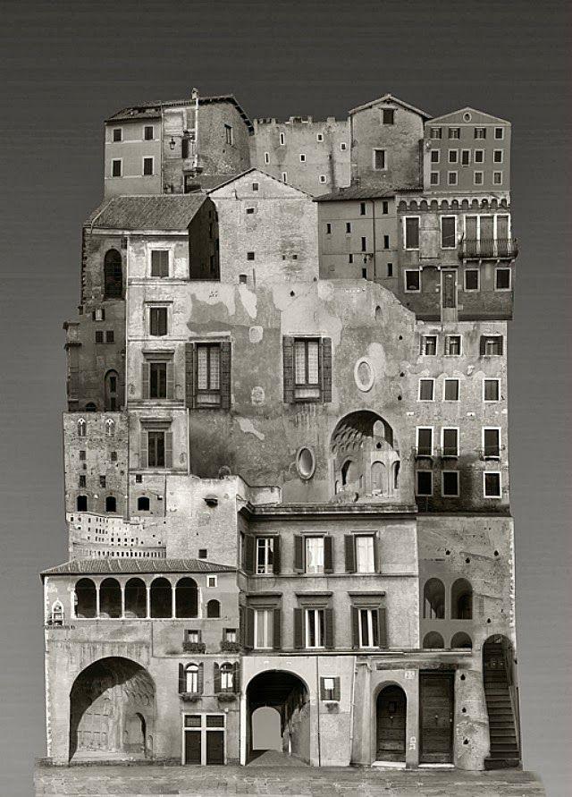 Usando várias camadas de fotografias tiradas em várias capitais europeias, a artista visual Anastasia Savinova combina elementos de formas arquitetônicas para criar impressionantes colagens em gran…