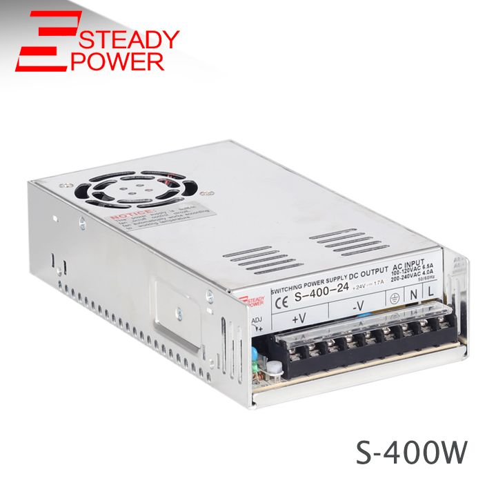 S 400 36 36v 11a Regulated Switching Power Supply 5v 60a 12v 33a 24v 17a 48v 8 5a 400w Ac Dc Power Adapter Led Power Supply Power Supply Acdc
