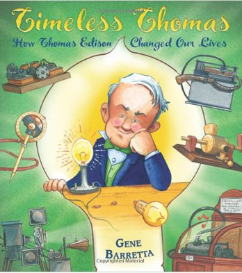TIMELESS THOMAS by Gene Barretta...great for teaching whats important in non-fiction