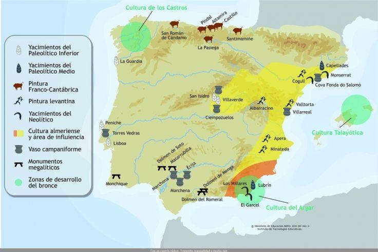 prehistoria de la peninsula iberica - Buscar con Google ...