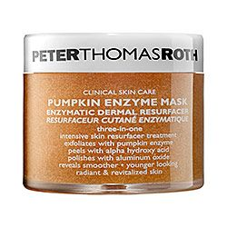 Peter Thomas Roth - Pumpkin Enzyme Mask  This stuff makes my skin so smooth and smells like straight pumpkin pie!