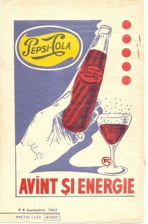Între 1967 și 1989 Pepsi a furnizat pieței românești concentrat de cola și a primit în schimb vin românesc. Se îmbutelia la Gostat-ul (gospodăria agricolă de stat, ulterior IAS) partidului din comuna 30 Decembrie (azi 1 Decembrie, fostă Copăceni și Regele Ferdinand) și la fabricile din Viilor și Palas Constanța.  au existat 3 fabrici de Pepsi: la Flora, Buc, Sos Viilor; la Ovidiu, Ct; si la 30 Dec sursa: https://www.facebook.com/pages/Bucure%C5%9Fti/335599216536539