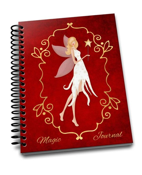Magic Journal  69 Coil Bound  Soft Cover Notebook  Lined