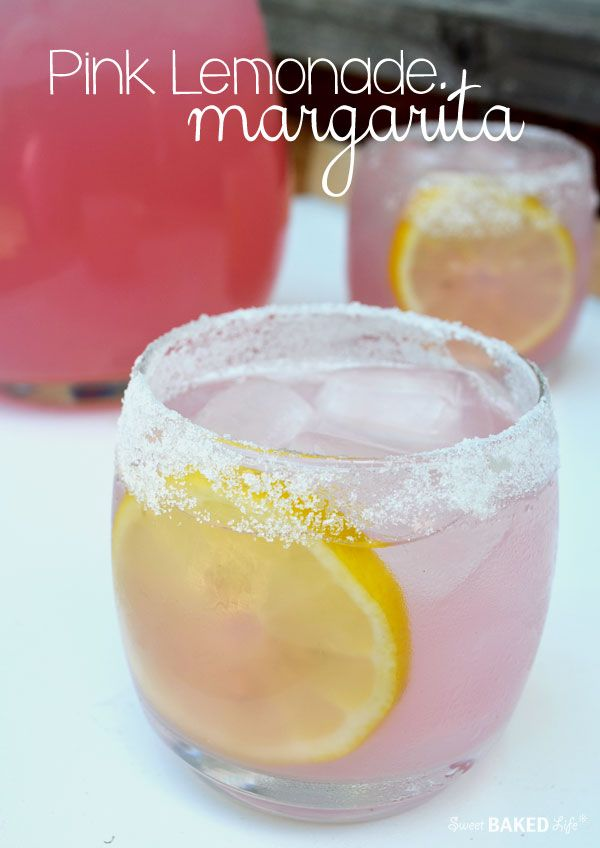 Think pink! If you're looking for a great summertime cocktail to help you cool off from the heat of the day...look no further. This pretty Pink Lemonade Margarita willhave you puckering upfor mor...