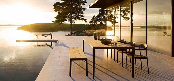 Classy 2015 outdoor decor collection adds sleek style to the pool deck - Decoist