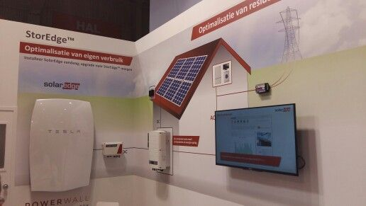 #SolarEdge met #Tesla #PowerWall