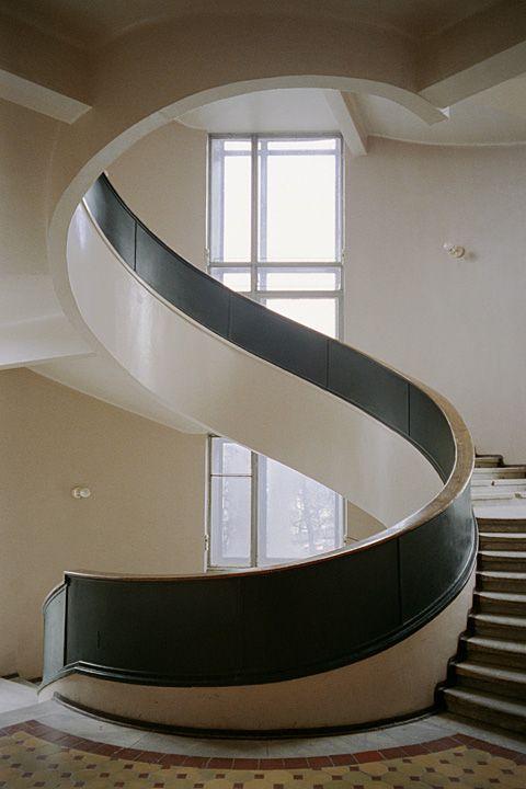 Architektur von Iwan Antonow, Wenjamin Sokolow und Arseni Tumbasow, 1929-36, ©…