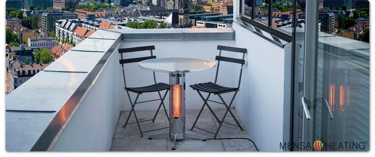 Mensa Heating - Under Table Heat System